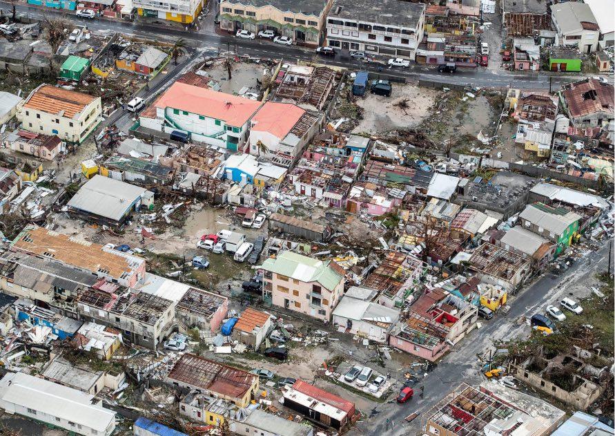 Hurricane Irma on Sint Maarten (NL)